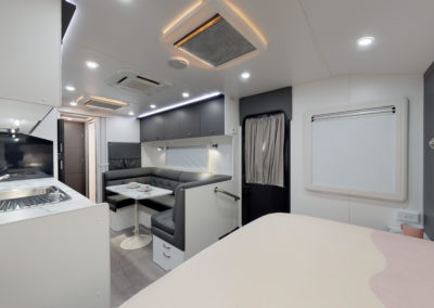 Luxe 675 includes heating and cooling plus smke alarms