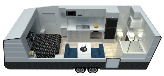 Newlands Luxe 610 Affodable Luxury Caravan